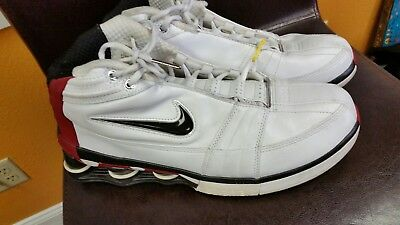 721841f7a2c ... Nike Shox VC IV 4 shoes 310379 101 whiteblackred size 11 Vince ... nike  shox vc v white white varsity red midnight navy basketball ...