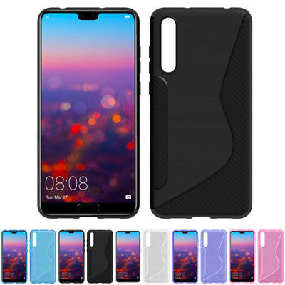 S-Line Wave TPU Soft Silicone Plastic Gel Rubber Case Cover For Mobile Phone