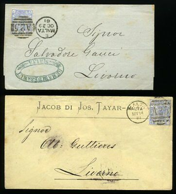 81296) 1881,Lot,Brief,Italien