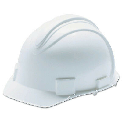 Charger Hard Hats, 4 Point Ratchet, White
