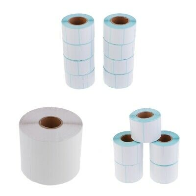 Professional White Direct Thermal Labels Rolls Direct Print Paper Stickers