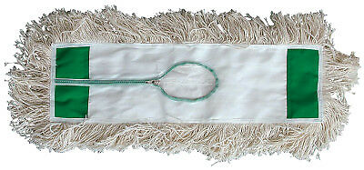 Industrial Dust Mop Heads, White Absorbent Cotton Yarn, 24 X 5