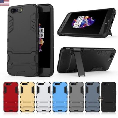 purchase cheap 8e7ce aad9a HEAVY DUTY HYBRID Shockproof Kickstand Rugged Armor Case Cover For OnePlus  5T/5