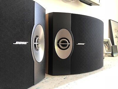 BOSE 301 V Direct / Reflecting Speakers GREAT CONDITION With Wall Brackets