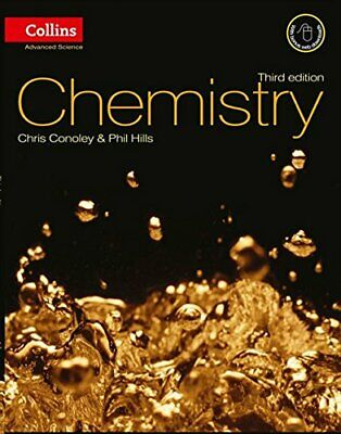 Collins Advanced Science - Chemistry by Hills, Phil Paperback Book The Cheap