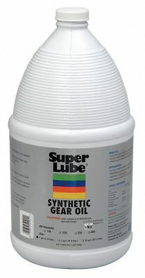 Super Lube Synthetic, SAE Grade : 140, 1 gal. Jug Clear   54401