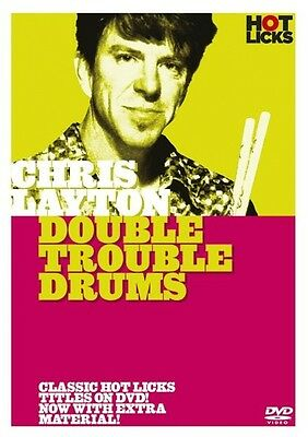 Chris Layton Double Trouble Drums Hot Licks Lick Library Dvd Hot213 Drum