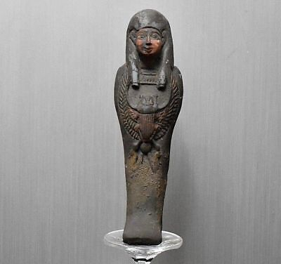 ANCIENT EGYPTIAN EGYPT beautiful USHABTI statue (300-1500 BC)