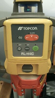 Topcon Rl-H4C Self-Leveling Rotary Slope Laser Level Package, Grade