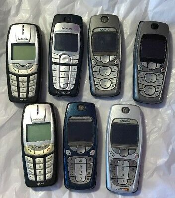Lot of Vintage Nokia Cell Phones: Non-Working?