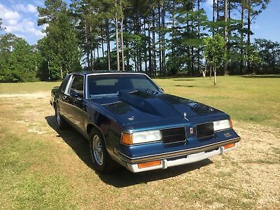 1987 Oldsmobile 442 Grey 1987 oldsmobile 442 Hot Rod Classic Car Street Rod Olds 442
