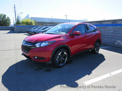 Honda HR-V EX-L Navi AWD CVT EX-L Navi AWD CVT New 4 dr SUV CVT Gasoline 1.8L 4 Cyl Milano Red