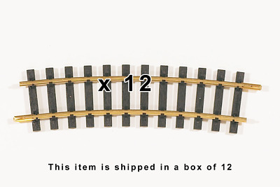 PIKO 35215, R5 Curve Track R=1240mm, 12 Pieces of G Scale / One Gauge Track