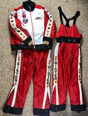 RARE Vintage Mercury His and Her Snowmobile Pants and Jacket - TWISTER
