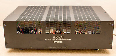 Luxman Avance Z501 Class A Stereo Power Amplifier  DuoBeta Switchable Class A AB