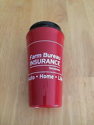 Farm Bureau Insurance Coffee Cup Insulated Plastic Cup Tennessee New