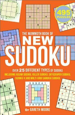 The Mammoth Book of New Sudoku by Moore, Dr Gareth Book The Cheap Fast Free Post
