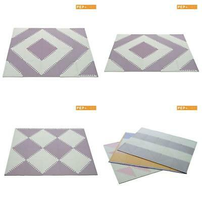 Non-Toxic Extra Thick Interlocking Floor Tiles Soft Foam Baby Play Mat