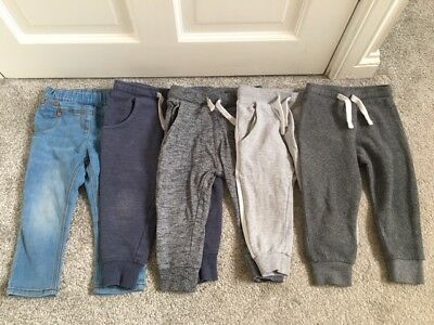 Bundle of baby girls jeans & joggers from Next, Size 12-18 months, good cond!
