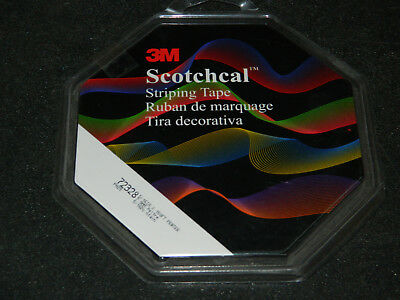 """3M 72328 Scotchcal Pewter Colored 5/16"""" X 150' Double Pin Striping Tape Roll"""