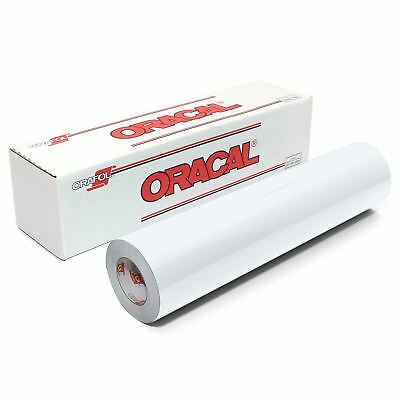 Oracal 651 Glossy Vinyl Roll Various Sizes Available - White
