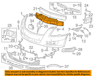 Cadillac GM OEM 08-14 CTS Front Bumper-Liner Extension Right 25940080