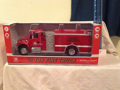 First Gear Speedway 1:24 Scale Toy Fire Truck Brand New In Box Lights And Sound
