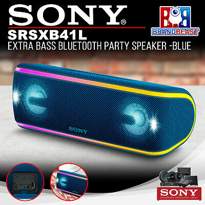 Sony SRSXB41L Extra Bass Portable Party Speaker - Blue