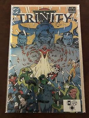 DC Universe: Trinity Part 2 of 8 1993 Chromium-Holochrome Cover ~ Free Shipping