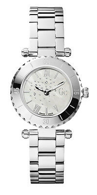 Guess GC x70110l1s Mini Chic Women s Watch Silver Stainless Steel Casing 1d634b5e6f