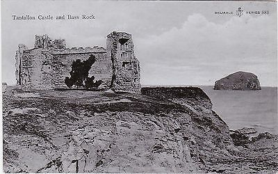 Tantallon Castle & Bass Rock, Nr NORTH BERWICK, East Lothian