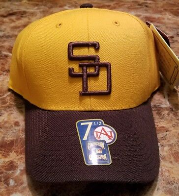 New 1972 San Diego Padres Retro Hat American Needle Fitted MLB Cap Size 7 1  cda9411de300