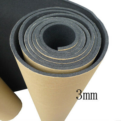 1 X Car Sound Proofing Deadening Insulation 3mm Closed Cell Foam 50X300CM SM