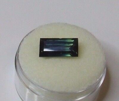 Natural Australian earth-mined blue/green/yellow sapphire...3.95 carat