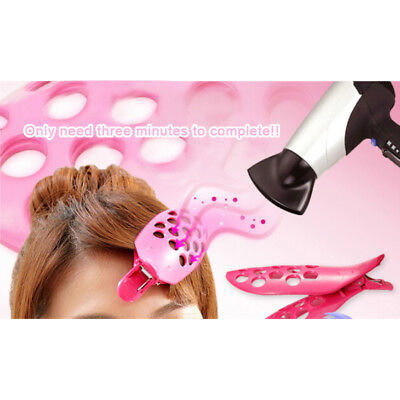 Hair Fringe Clip Bang Front Curler Roller Holder Hairpin DIY Styling Tool uu