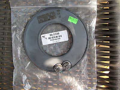 "Allpoints Chromalox Ring Heater Element 120V 1000W  6-1/8"" Od 341130 34-1130"