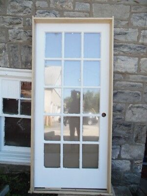 36 X 80 Solid Pine Interior French Door 15 Light Pre Hung Local
