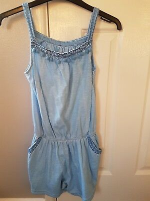 girls blue playsuit from NEXT age 11 years