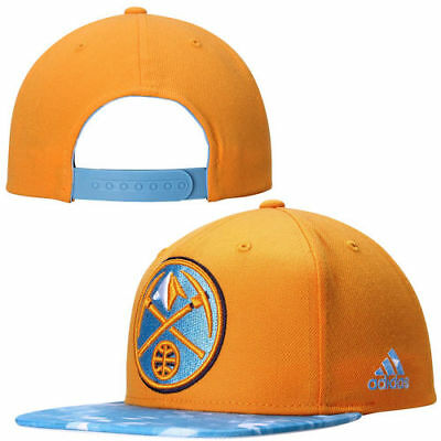 6cabec5ae9e Denver Nuggets adidas 2 Tone City Pulse Snapback Adjustable Hat - Gold  Powder