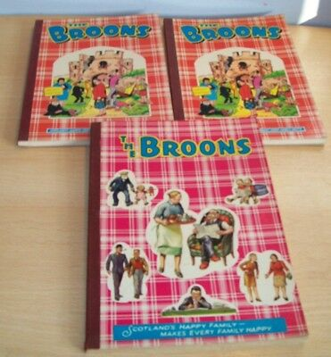THE BROONS Paperback Books x3 - 1973 & 1985 x2