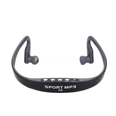 FM Radio Sport Wireless Headset Headphone Earphone Music MP3 Player TF Up To 16G