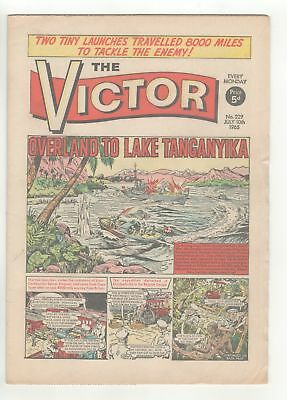 The Victor Comic - No 229 - 10th July 1965 -  LOVELY COPY!!