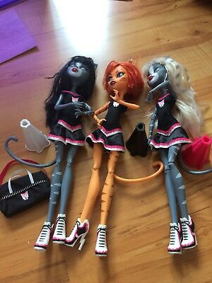 Monster high Katzen Cheerleader