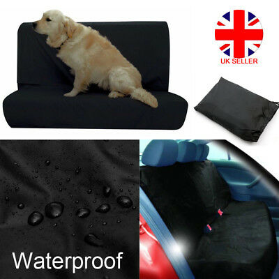 Universal Car Rear Back Seat Cover Pet Heavy Duty Protector Waterproof Gog UK A