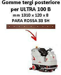 ULTRA 100 B  Back Squeegee rubber Comac