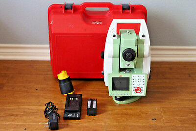 """Leica VIVA TS11 3"""" Reflectorless Conventional Survey Total Station"""
