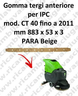 CT 40 till 2011 Front Squeegee rubber for scrubber dryer e scrubber dryers IPC