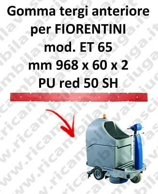 ET 65 Front Squeegee rubberfor FIORENTINI squeegee