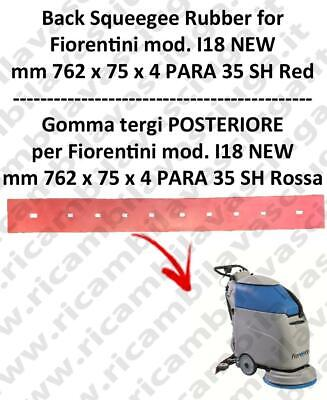 I18 NEW squeegee rubber back for scrubber dryer  FIORENTINI
