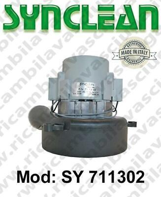 Vacuum motor SY  711302 SYNCLEAN for scrubber dryer and vacuum cleaner